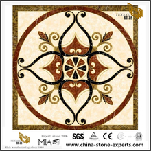 Cheap But Quality Marble Waterjet Medallion Tile Floor Outlet Online Sale