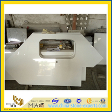 White Artificial Quartz Stone for Kitchen Countertop (YYL)