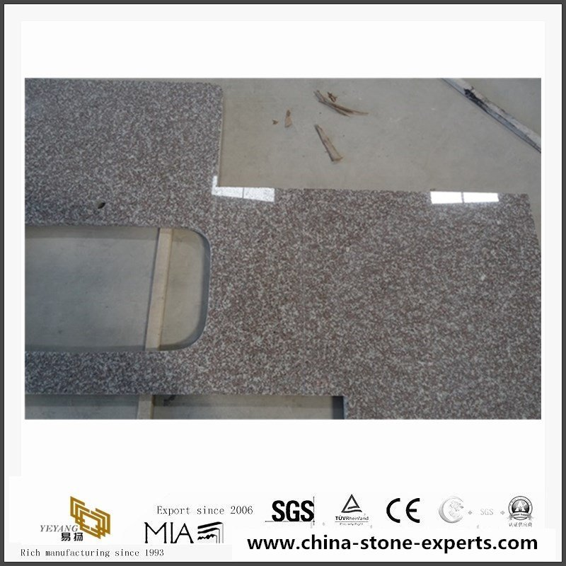 China G664 Misty Brown Granite Counter Tops With cheap Price2