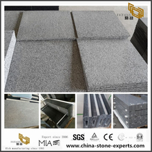 G654 Chinese Padang Dark Black Granite for Projects