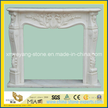 Natural Stone-Marble, Granite, Sandstone, Limestone Fireplace Mantle, Surround (YYCV)