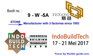 INDO BUILD TECH Stone fairs #9-W-5A