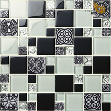 Modern Design Glass Marble Tile Mosaic Tiles New Arrive
