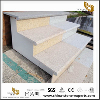 Yellow granite & Grey Granite Stair Designs from China Factory