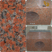 Discount G562 Maple Red Granite Countertop for Kitchen& Bathroom Decor(YQW-GC071602)