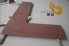 Indian Red Granite Kitchen Counter tops for Kitchen Flooring Design (YQW-11018G)