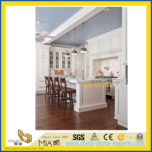 SGS Cheap White Marble Stone Countertop for Kitchen / Hotel