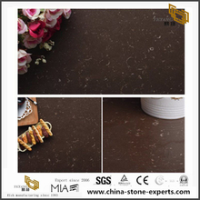 China Factory Price Coffee Quartz Stone for vanity top Floor Tile,Wall Tile