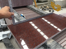 Indian Red Granite Tiles for Kitchen Flooring Design (YQW-11011G)
