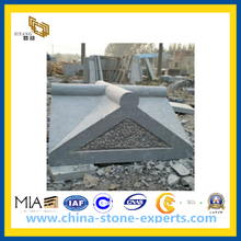 Grey Honed Capital Stone for Landscape(YQG-PV1052)