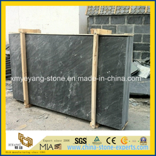 Precut Natural Black Slate Slab for Roofing or Flooring