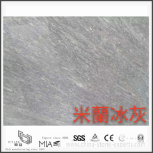 Cheap New Milan Ice Light Grey Marble for Kitchen & Bathroom Floor Tiles(YQW-MS31022)