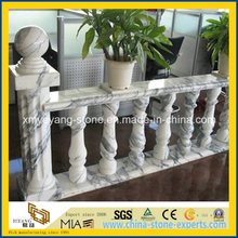 Guangxi White Marble Balustrade for Building Decoration