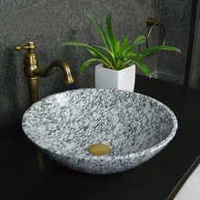 Spary White Spoondrift White Granite Wash Basin / Sink (YQZ-GSI1001)
