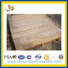 Yellow Split Granite Kerb Stones / Border Stone(YQG-PV1078)