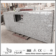 White Bianco Taupe Granite Countertops for Hotel Kitchen/Bathroom (YQW-GC0524023)