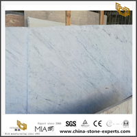 Italy White Marble With Grey Vein Polished Marble Slabs