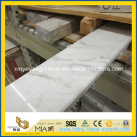 Castro White / Bianco Carrara Marble Threshold for Building Materials