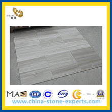 Wood Grey Marble Tile for Floor & Vanity Top(YQC)