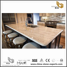 Beautiful River White Granite Countertops for Bathroom & Kitchen (YQW-GC072601)