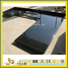 Natural Black Galaxy Granite Kitchen Countertop (YQW-GC052401)
