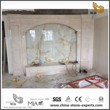 Natural Multicolor Marble Backgrounds for Hall,Bathroom Wall Design (YQW-MB072603)