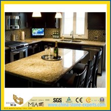 Fashion High Quality Giallo Ornamental Granite Kitchen Countertop (YQW-GC1004)