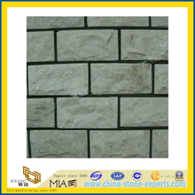 White Quartzite Mushroom Stone for Tile (YQA-S1073)