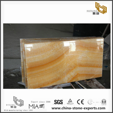 Honey Onyx Marble Decoration Background(YQN-083003)