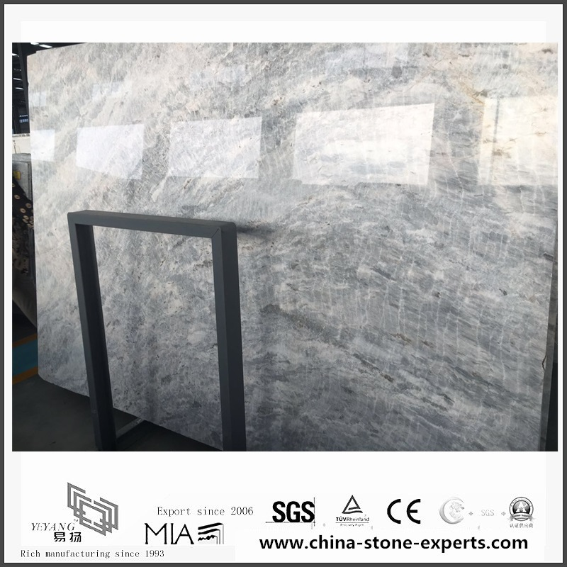 Wholesale New Vermont Grey Marble for Wall & Floor Tiles (YQW-MS0621002)