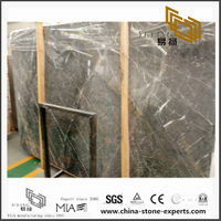 New Exclusive Shangri-la Grey Marble Slabs for Countertop and Wall / Floor Decor with cheap price (YQN-101403)