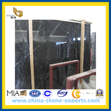 Nero Marquina Black Marble Tiles for Flooring and Wall / Countertop (YQC)