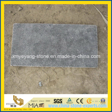 Honed Surface Blue Limestone Paving Tile for Garden or Patio