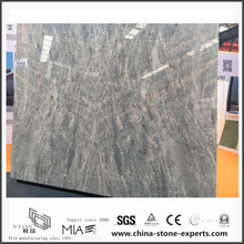New Polished Vermont Grey Marble for Wall Background & Floor Tiles (YQW-MS0621003)