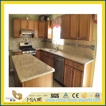 Natural Stone Polished Kashmir Gold Granite Countertop for Kitchen/Bathroom (YQC)