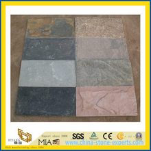 Mixed Color Mushroom Stone Tile for Outdoor Decoration