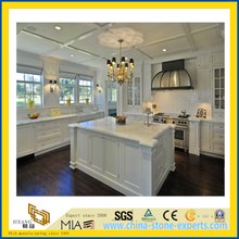 High Quality Polished Castro White Marble Countertop for Kitchen/Bathroom (YQC)