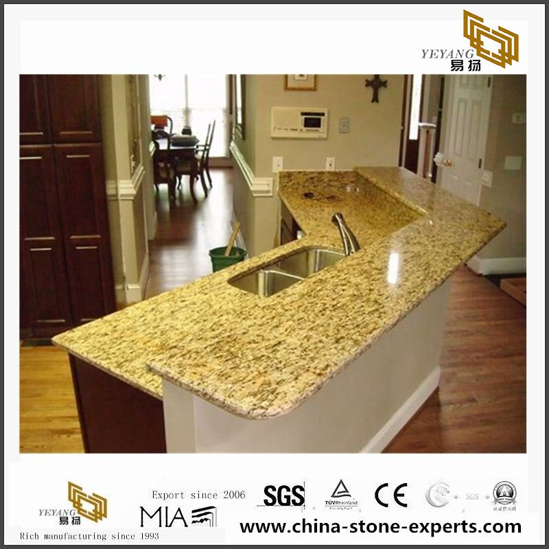 Santa Cecilia Granite Slabs For Countertop Tile